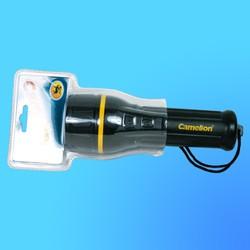 """Фонарь """"Camelion 527 Extreme"""" с криптоновой лампой, водонепроницаемый, резина, (используются-2хR20)"""