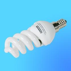 Лампа энергосберегающая Camelion Е-14 11Вт 220B LH-11-AS-M Cool light (4200К) (спиральна MINI)