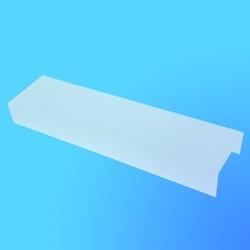 Рассеиватель к светильнику ЛПО 2*20 (полистирол)
