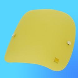 "Светильник настенно-потолочный 41001/ML41001 ""Лидия""(Лепесток желтый), электрик 1хЕ14х60 (235х235)"