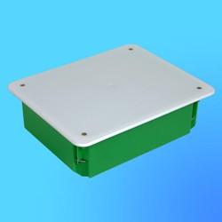 Коробка разветвит. КР1205 для полых стен прямоуг. с крышкой 200х160х70 мм метал.лапки(HEGEL)