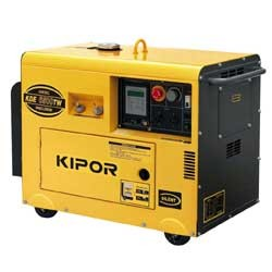 Электростанци  Kipor KDE6500TW