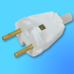 Вилка штепсельная плоская универсальная В6-005 (Вит)