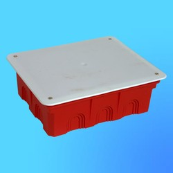Коробка разветвит. КР1104 для сплошных стен прямоуг. с крышкой 200х160х70 мм(HEGEL)