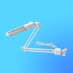 Светильник настольный Camelion KD-017С на струбцине, G23, белый, тип лампы - энергосберегающая 11Вт