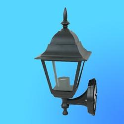 Светильник садово-парковый 4401 четырехгр.конструкция, 100Вт Е27 IP33 395х265 (металл+стекло) черный