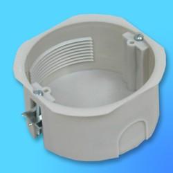 Коробка эл.монтажная СП КМ-205 под гипсокартон, кругл.пласт.без крышки, 76*D84*40  (Мин)