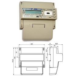 СЕ303 R33 746-JAZ  1,0/1,0; 3*220/380В; 5-100А; оптопорт; RS-485  (цена от 3.660 руб.)