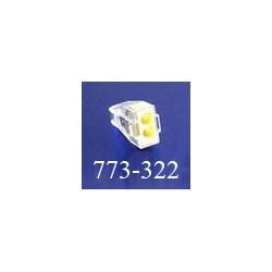 Клемма WAGO (ВАГО) 773-322 (без пасты) 2*2,5 мм2