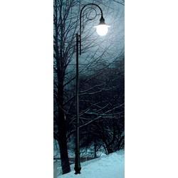 Уличные фонари. Опора освещения металлопластиковая 1,4 м