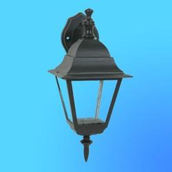 Светильник садово-парковый 4402 четырехгр.конструкция, 100Вт Е27 IP33 395х265 (металл+стекло) черный