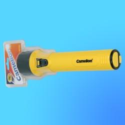 """Фонарь """"Camelion 713"""" с криптоновой лампой, пластик, желтый, (используются батареи-3хR20)"""