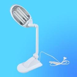 Светильник настольный Camelion KD-021, G23, белый, тип лампы - энергосберегающая 2х9Вт, складной