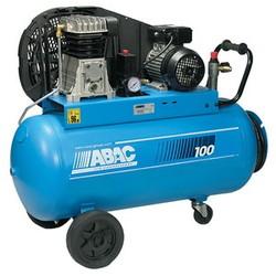 Компрессор маcляный с ременным приводом с катушкой и резиновым шлангом B 3800В / 100 CM 3