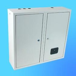 Щиток навесной под 3-х ф.индукционный счётчикЩРУ-3Н48замок+окно(580х620х165)