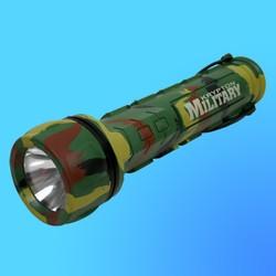 """Фонарь """"Camelion ML-939"""" с криптоновой лампой, водонепроницаемый, резина, камуфляж, 3хR20"""