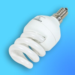 Лампа энергосберегающая Comtech 2U СЕ ST9/827 Е-14 9Вт ( 2U образная)