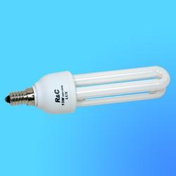 Лампа энергосберегающая R&С LUX 2U Е-14 13Вт (2700)