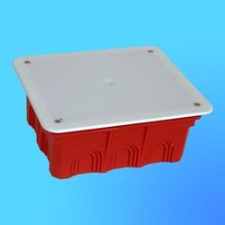 Коробка разветвит. КР1103 для сплошных стен прямоуг. с крышкой 130х160х70 мм(HEGEL)