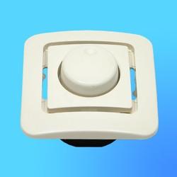 "Светорегулятор (Диммер) 1 СП ""Lillium""  крем, без декор.вставки 71211 (Makel)"