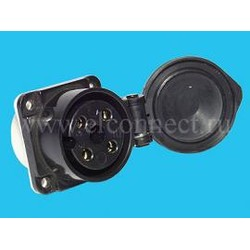 Розетка кабельная СС11 4х25 052.1
