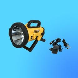 """Фонарь """"Jonlite"""" 2940  прожектор с галогенной лампой, желтый,10 млн.свечей, аккумулятор, адаптер"""