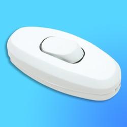 Выключатель для установки на шнур М14 10014 белый с бел.кл.(Makel)