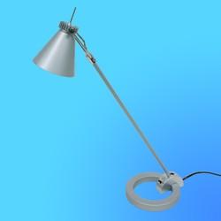 Светильник настольный Camelion KD-110, Gu 10, серебро, тип лампы Gu10-50Вт