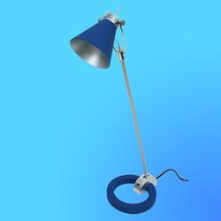 Светильник настольный Camelion KD-110, Gu 10, синий, тип лампы Gu10-50Вт