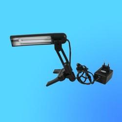 Светильник настольный Camelion KD-018 (019), G23, черный, тип лампы - энергосберег. 9Вт, складной