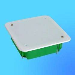 Коробка разветвит. КР1201 для полых стен квдр. с крышкой 113х113х45 мм метал.лапки(HEGEL)