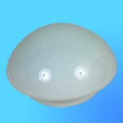 """Плафон-стекло """"Полусфера""""  D=150 мм НБ-84 габарит 195х105х150 мм (Никольск)"""