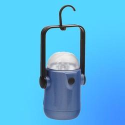 """Фонарь """"Focusray-128"""", 6 светодиодов, пластик, синий (используется батарея - 4шт R6)"""