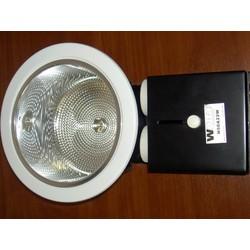 Светильник встраиваемый WOLTA, для энергосберегающих ламп (с горизонтальным расположением - ТИП H) со стеклом (Гарантия 12 месяцев)  модель H60A22W