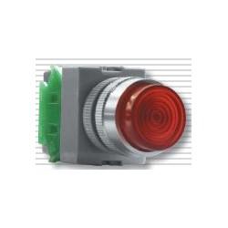 Кнопка с лампочкой ABW111 зеленая