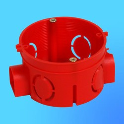Коробка установочная КУ1101 для сплошных стен блочная 68х42 мм(HEGEL)