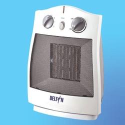 Тепловентилятор DELFIN HFPD-5 Yкерамический (900/1500 Вт) 4-х поз., поворотный, термостат, защита