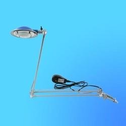 Светильник настольный Camelion KD-117n, G4, серебро, тип лампы JC-35Вт