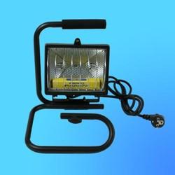 Прожектор галогенный Camelion 0203 FLН-500W переносной на подставке, в комплекте с лампой, IP 54