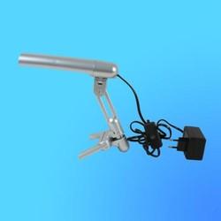 Светильник настольный Camelion KD-018 (019), G23, серебро, тип лампы - энергосберег. 9Вт, складной