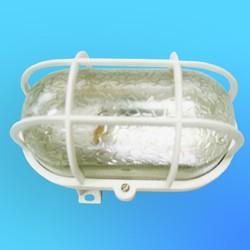 Светильник настенный ПСХ НБП-002 с плафоном и защ. решеткой (пластм)