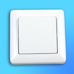 """Выключатель 1 СП ВС16-133, белый, """"Хит"""" (Wessen)"""