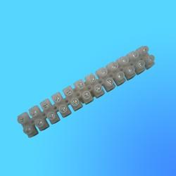 Колодка клеммная 6 мм.кв. 6 А-H основание квадратное (полоска 12 клемм)