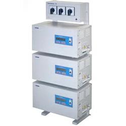 Стабилизатор напряжения PROGRESS 36000L 3-ф. (36 кВА), Uвх.(фазн.)107-275В, Uвых.(фазн.)220+/-1,5%, гарантия 3 года.