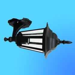 Светильник садово-парковый 4101 шестигр. конструкция, 60Вт Е27 IP33 370х205 (металл+стекло) черный