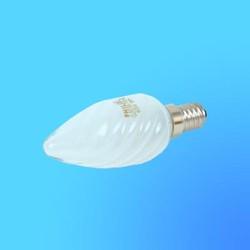 Лампа накаливания Philips Е14  60 Вт свеча витая матовая, ВW35FR