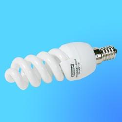 Лампа энергосберегающая Camelion Е-14 11Вт 220B LH-11-AS-M Daylight (6400К) (спиральна MINI)