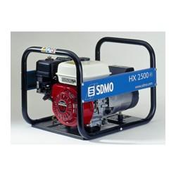 Генератор бензиновый SDMO HX 2500. Портативный бензогенератор 2.2 кВт.