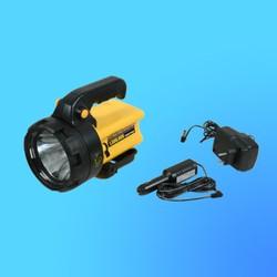 """Фонарь """"Jonlite"""" 2931 прожектор с галогенной лампой, желтый1,5 млн.свечей, аккумулятор, адаптер"""