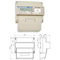 СЕ301 R33 043-JAQZ (0,5S; 3*220/380В; 5-10А; оптопорт; RS-485; реле) - 5.476 руб. (цена 2015 года)